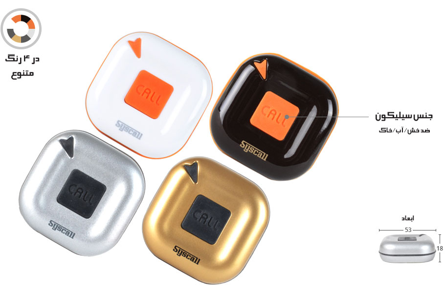 Silicon button : Prevent breakage, water/dust infusion